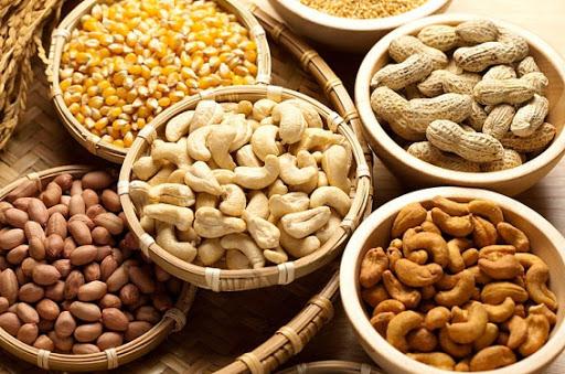 Sơ chế nguyên liệu làm ngũ cốc
