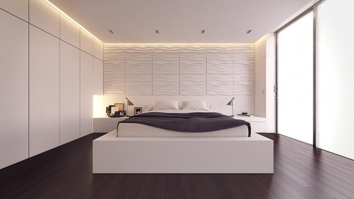 Kết quả hình ảnh cho phòng ngủ đèn âm tường