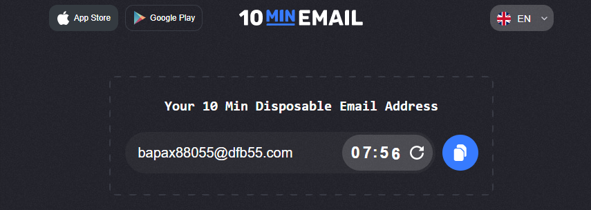 10 min emails