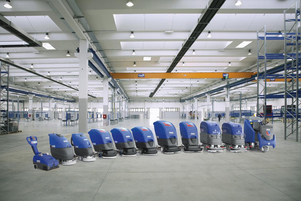 Các thiết bị chuyên dụng dành cho dịch vụ vệ sinh nhà xưởng