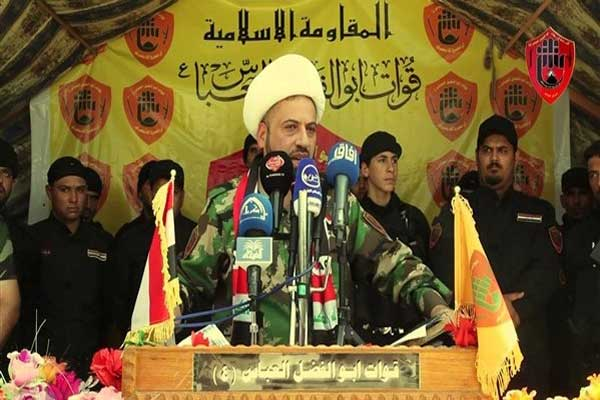 أوس الخفاجي قائد ميليشيا أبي الفضل العباس العراقية