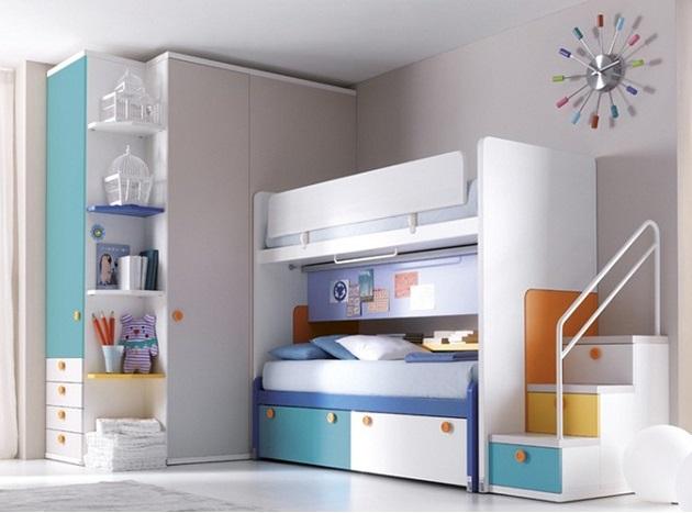 Quarto de 2 3 4 irm os sempre cabe mais um mam e sortuda for Dormitorios minimalistas pequenos