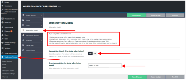 netflix subscription model