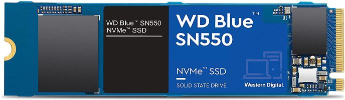 Western Digital WDS500G2B0C (Best Cheap NVMe SSD For Gaming)