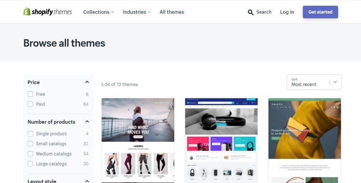 shopify themes - Sydney SEO Company