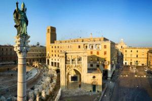 St Oronzo square in Lecce
