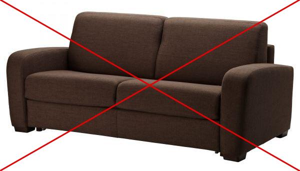 Диван кровать, сиденье с подушками, Omebli.ua
