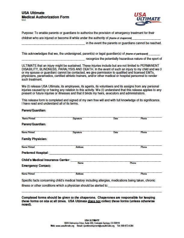 Please make sure to bring this completed form to the clinic.