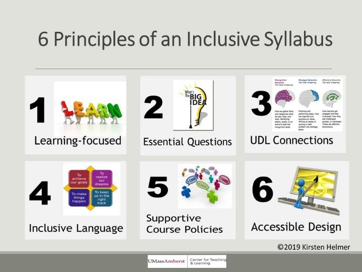 Inclusive Syllabus Design Center For Teaching Learning Umass Amherst