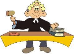 Cartoon of judge