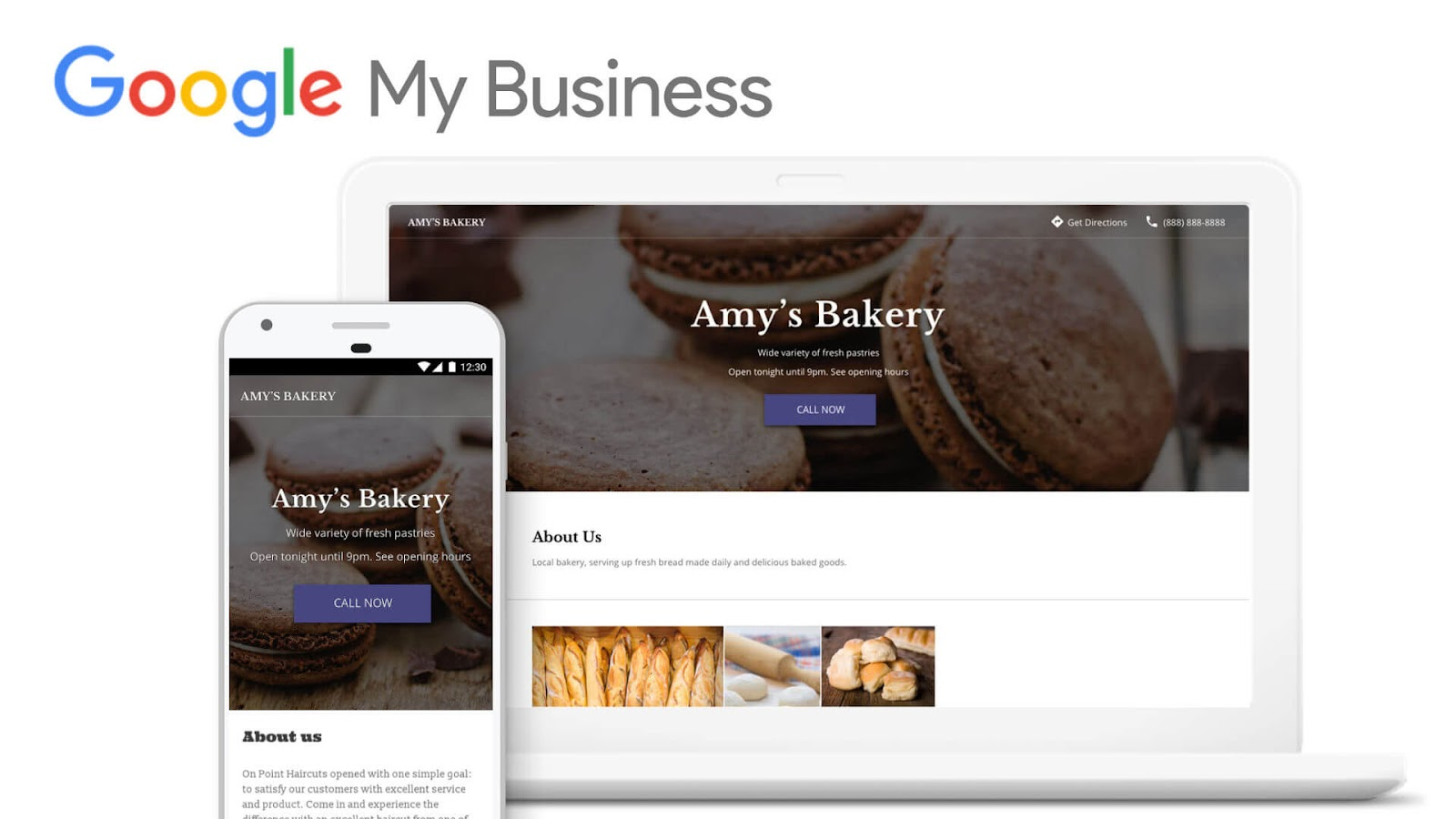 Google My Business Website