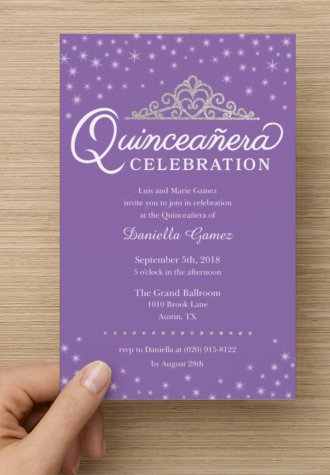Ideas Para La Invitación De Quince Años Invitaciones