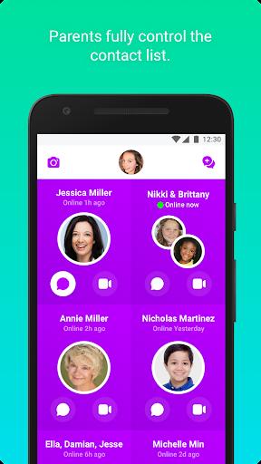 Messenger Kids – Safer Video Calls and Texting- screenshot thumbnail