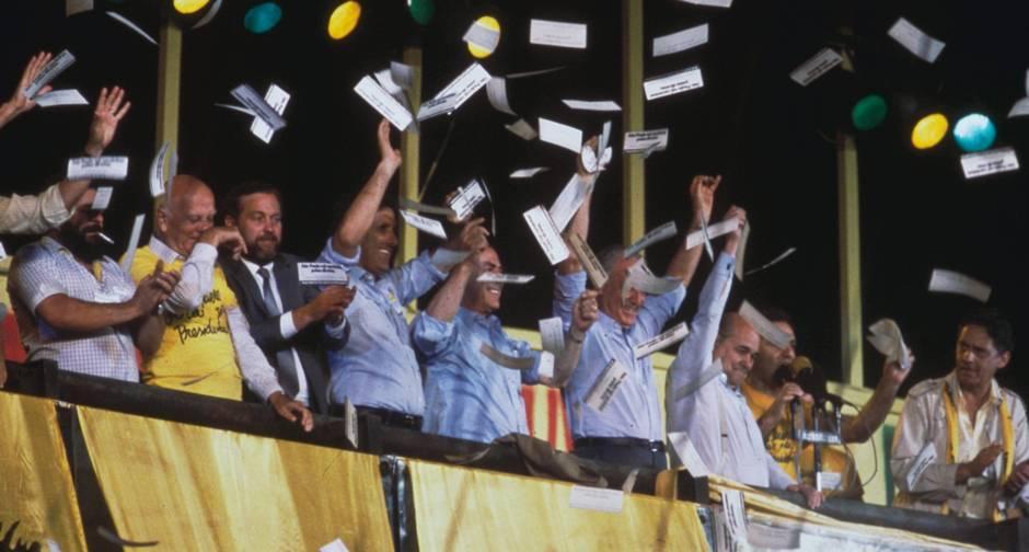 Resultado de imagem para campanha das diretas já de 1984