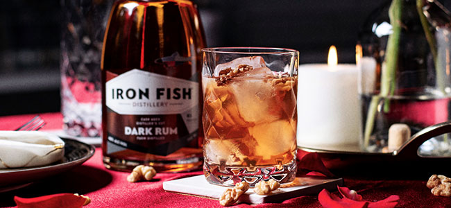 A Robust, Nutty Valentine's Day Cocktail