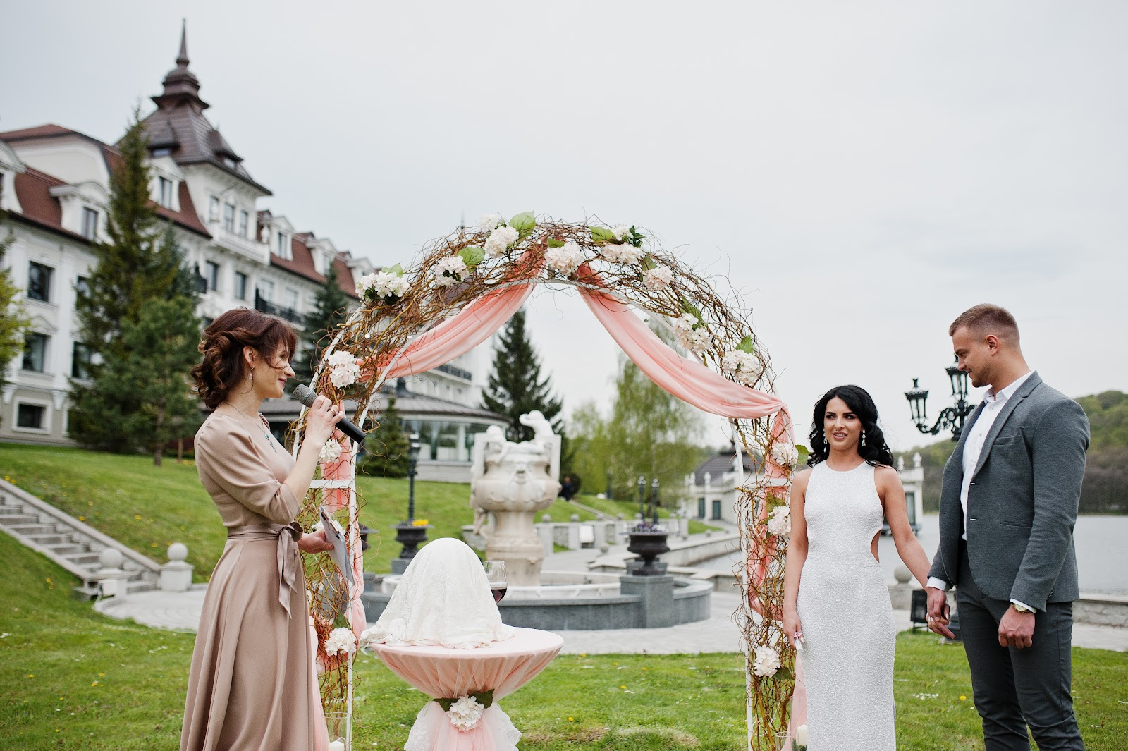 speeches to plan a wedding