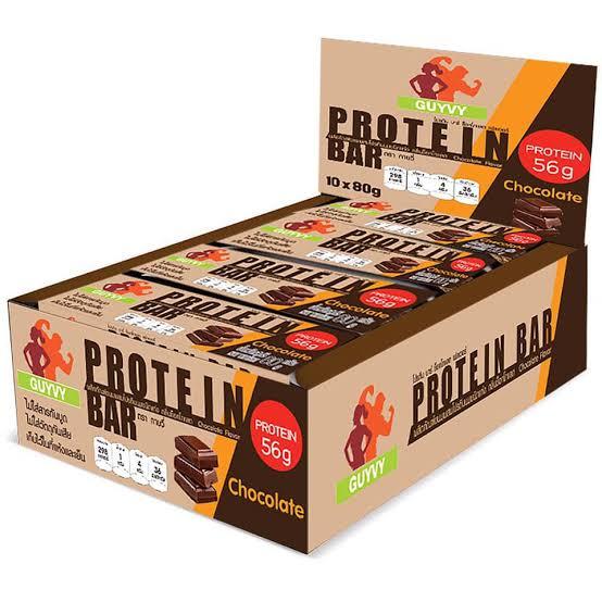 2. Guyvy Healthy Food Protein Bar