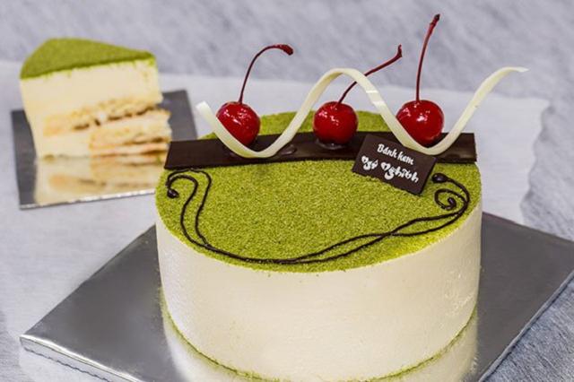 Bánh kem sinh nhật trà xanh giúp bạn cải thiện trí nhớ