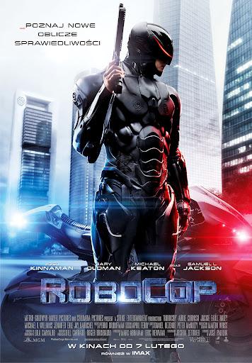 Polski plakat filmu 'RoboCop'