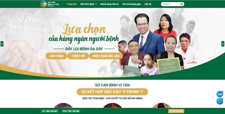 Socanbinhvitan.com - Địa chỉ đáng tin cậy số 1 về việc cung cấp kiến thức về sức khỏe dạ dày