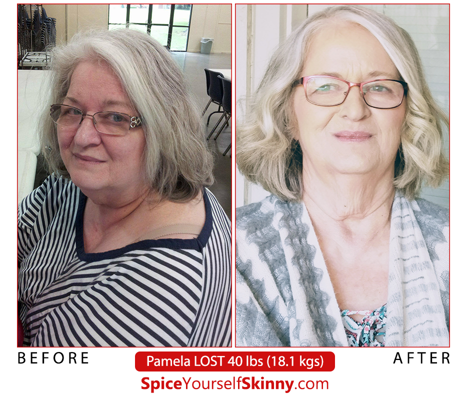 Pam losing weight in her 60s success story