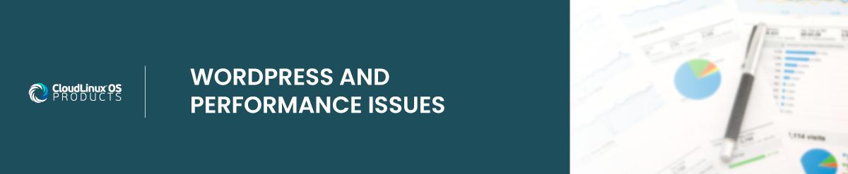 wordpress performance issues : wordpress optimization suite