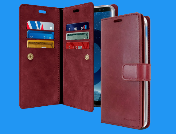 Goospery Mansoor Wallet for Galaxy S9 Case