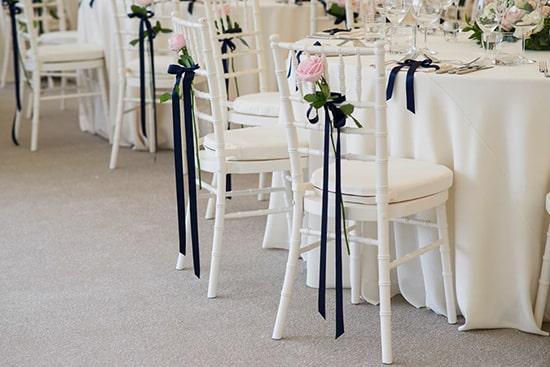 Tầm quan trọng của ghế tiệc cưới trong ngày trọng đại