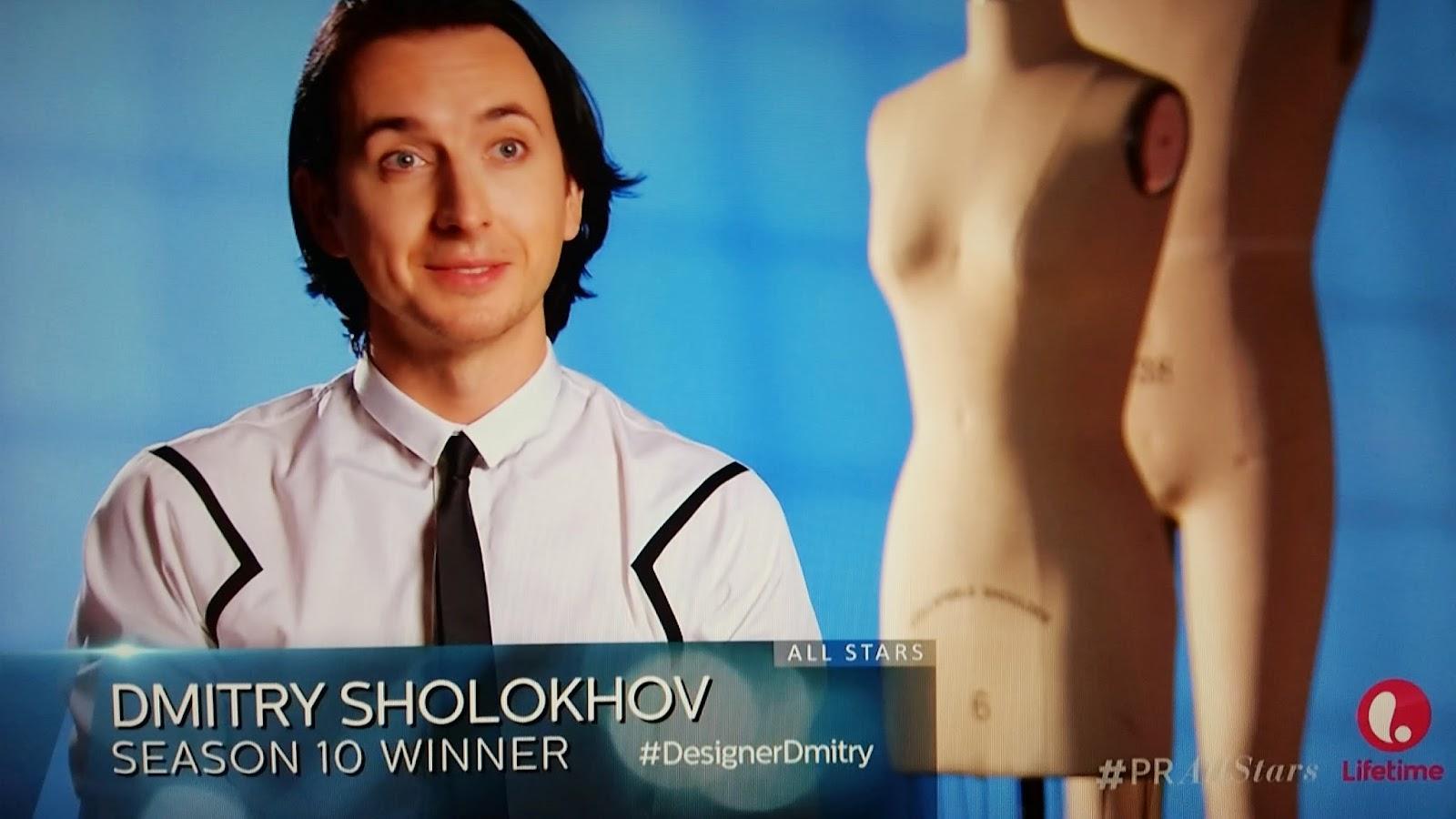 Dmitry Sholokhov Project Runway All Stars