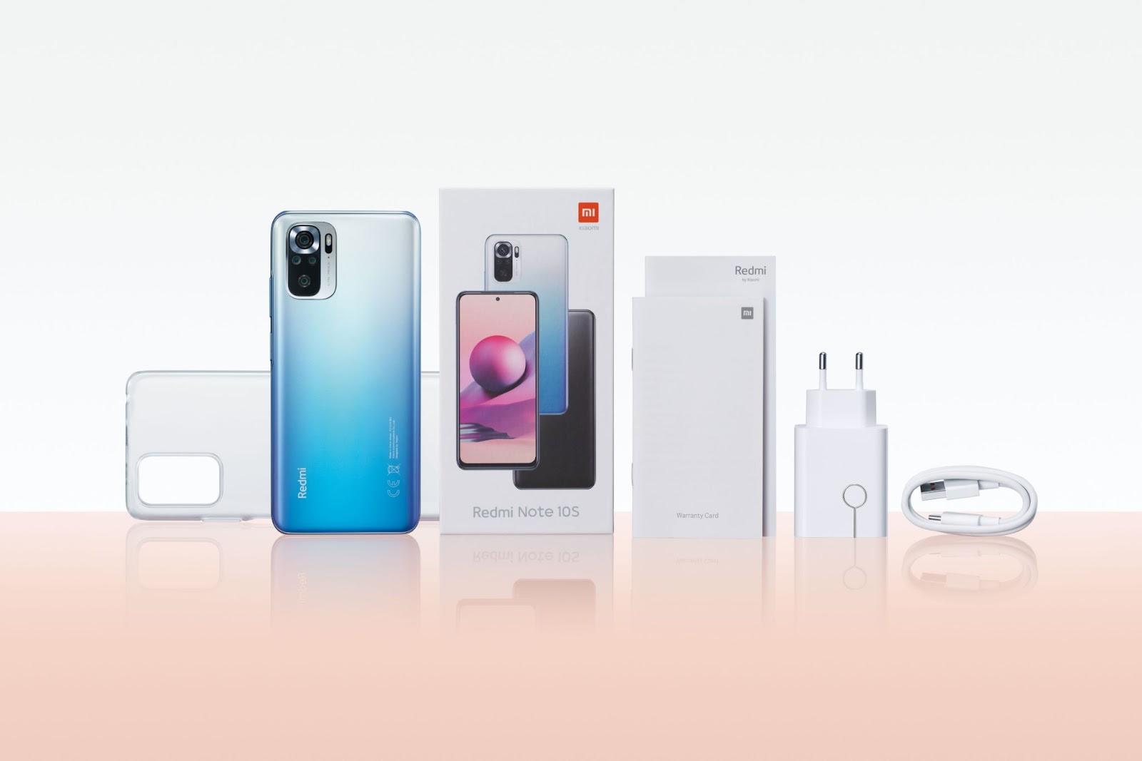 Redmi Note 10S é uma das opções mais acessíveis da Xiaomi em 2021 (Foto: Reprodução / Xiaomi)