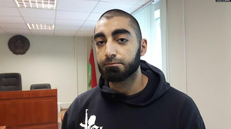 Роман Халилов в суде.  Автор фото svaboda.org