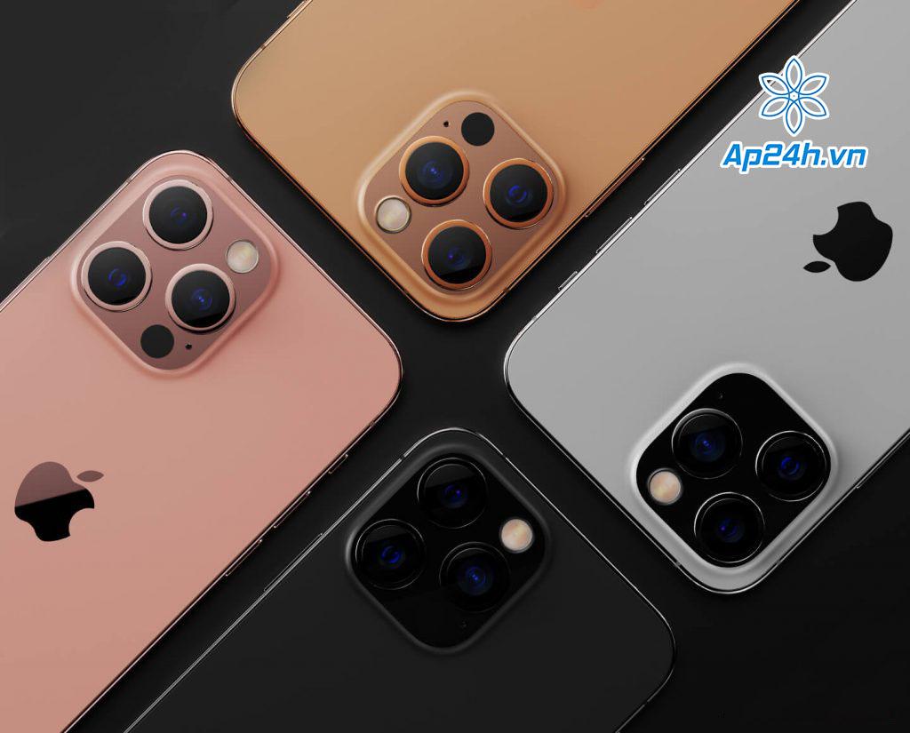 Concept 4 màu giống với iPhone 12