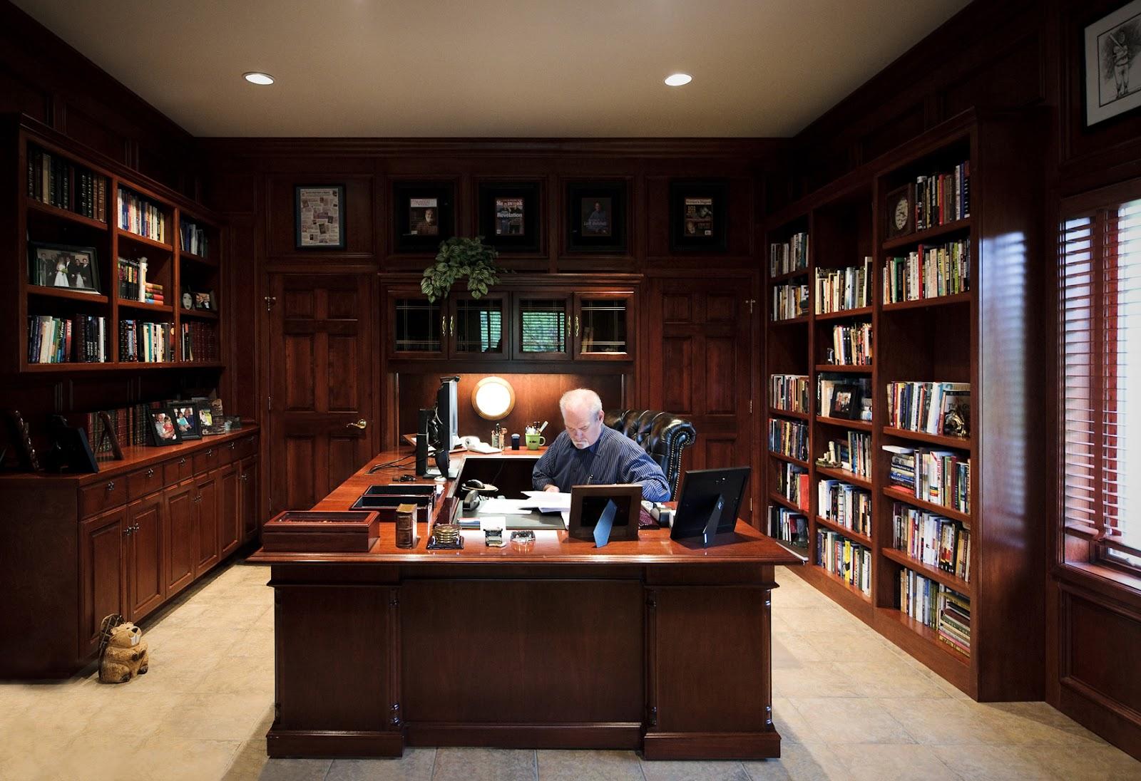 jerry jenkins at desk