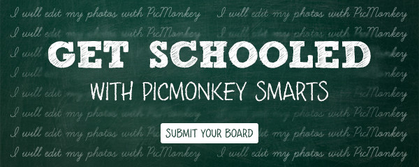 Back to School Giveaway with Picmonkey inspired by your Pinterest Boards for the Upcoming School Year.