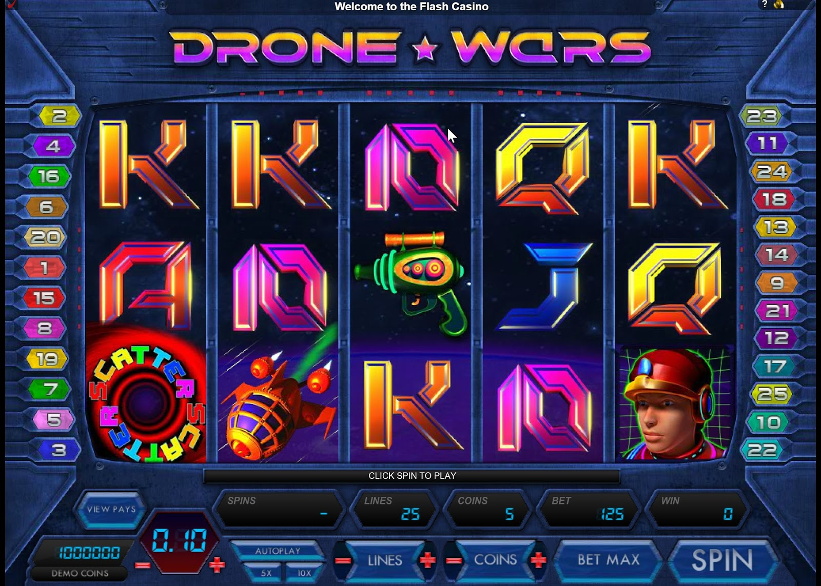 Drone Wars Slots Game Review