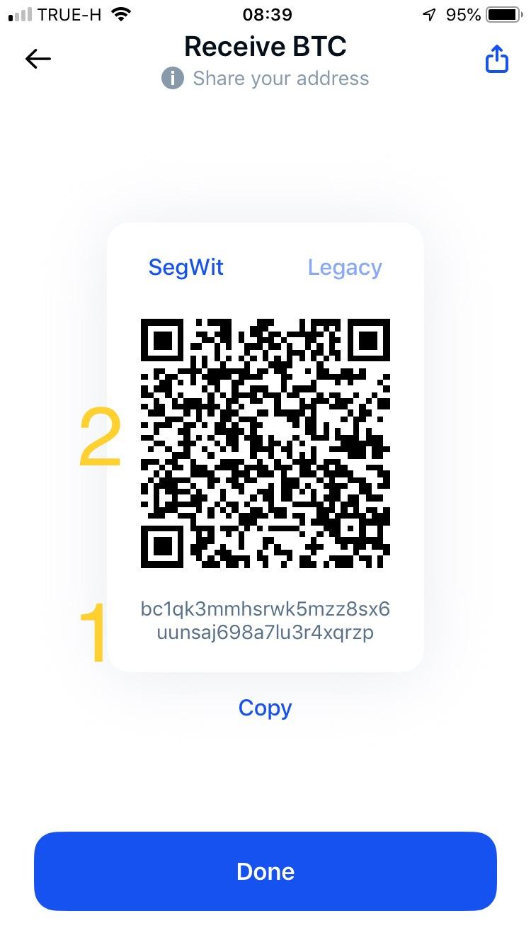 Adres w sieci Bitcoina