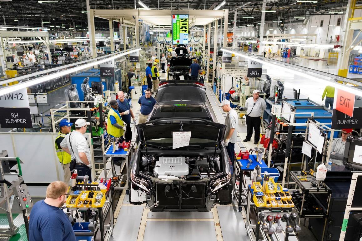 Toyota là doanh nghiệp đi đầu rất thành công trong sản xuất tinh gọn.