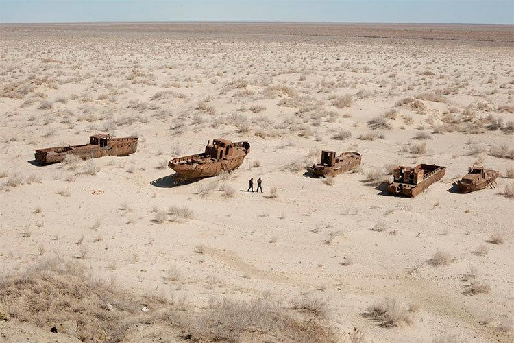 La agonía del Mar de Aral