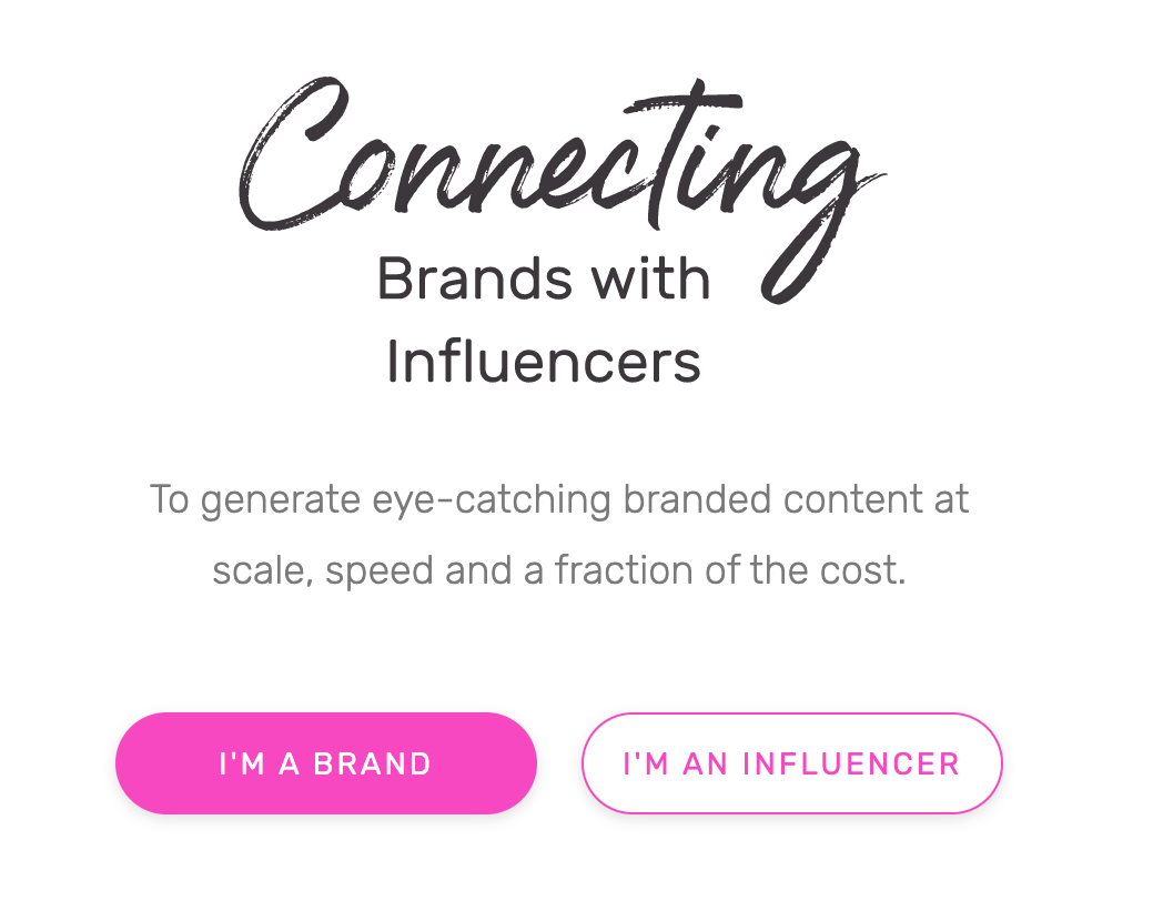 Tribe - Connecting Brands with Influencers
