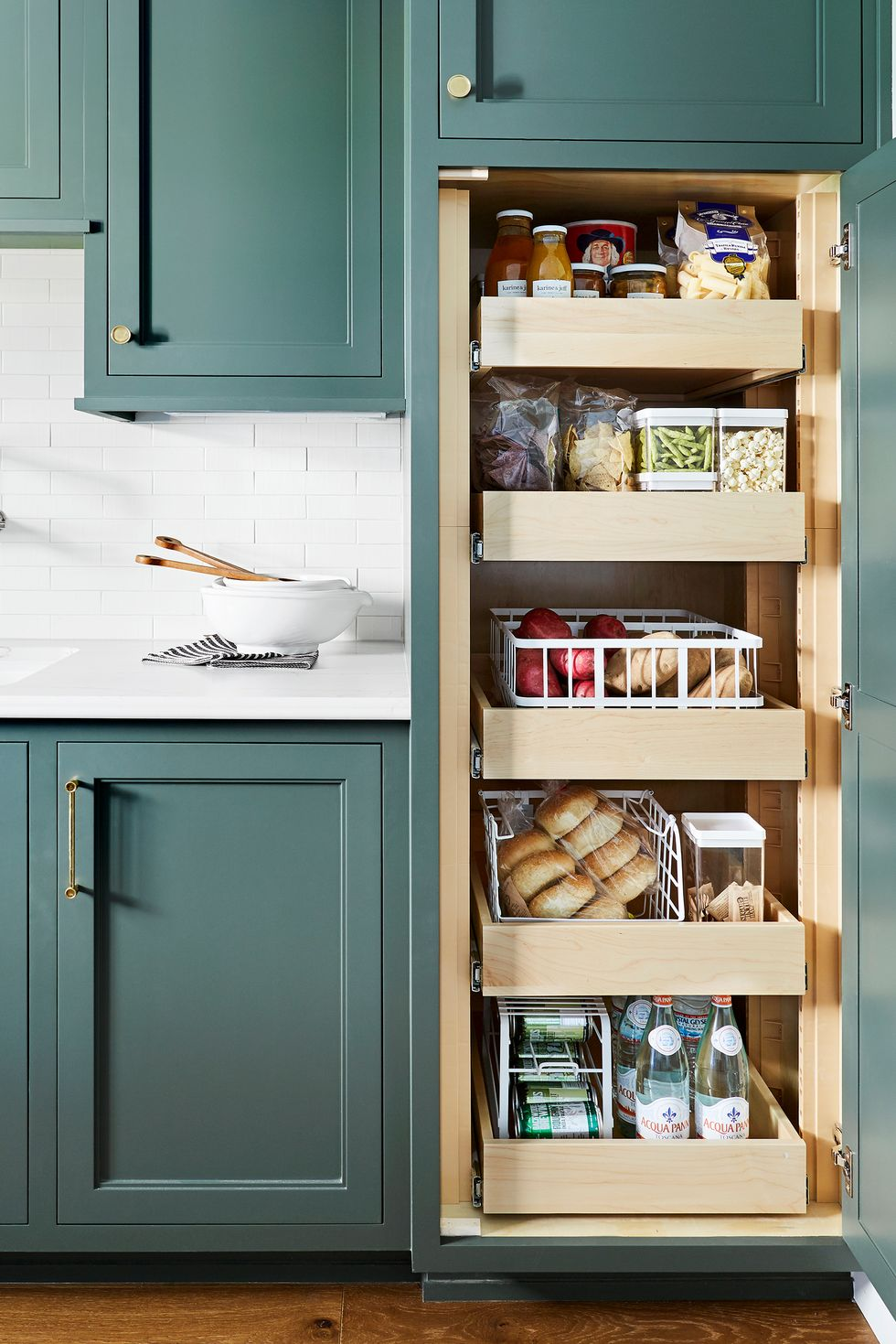 5 Tips For An Organized Pantry...Even if Yours is Tiny