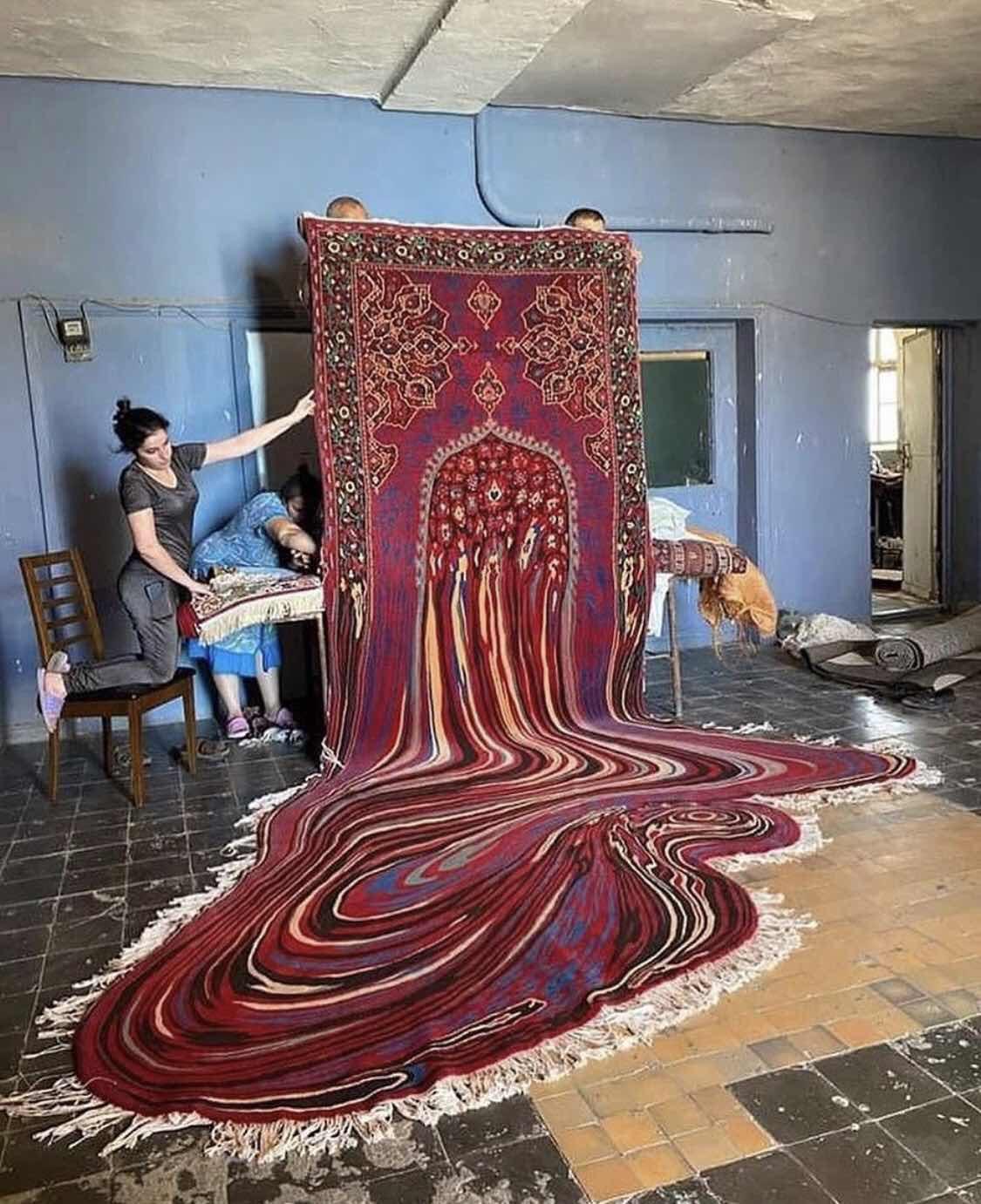 """""""Doubts"""" Carpet Collection"""