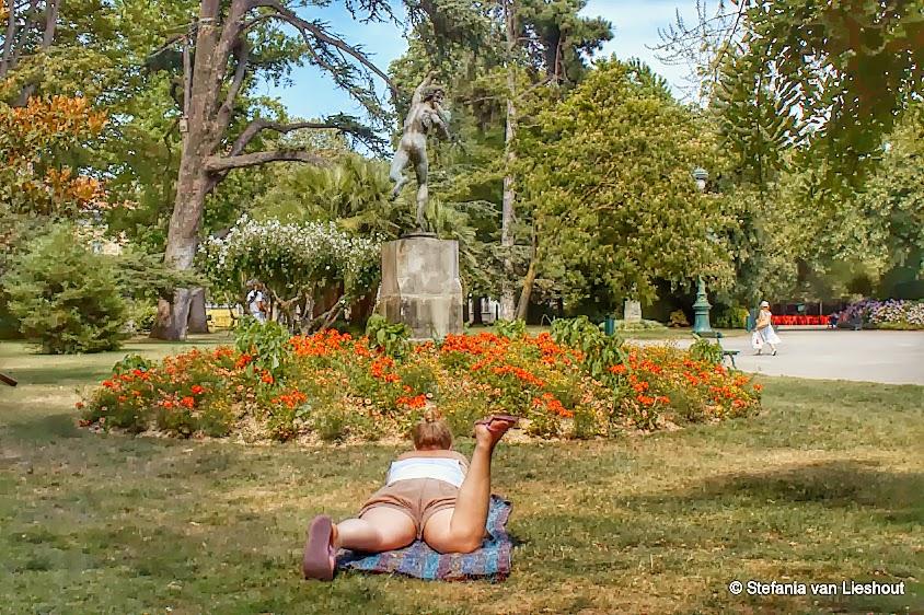 Jardines Toulouse parken