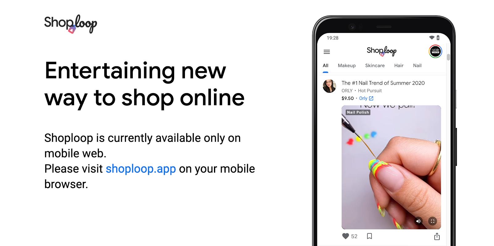 Google Launches ShopLoop: New Way to Shop Online