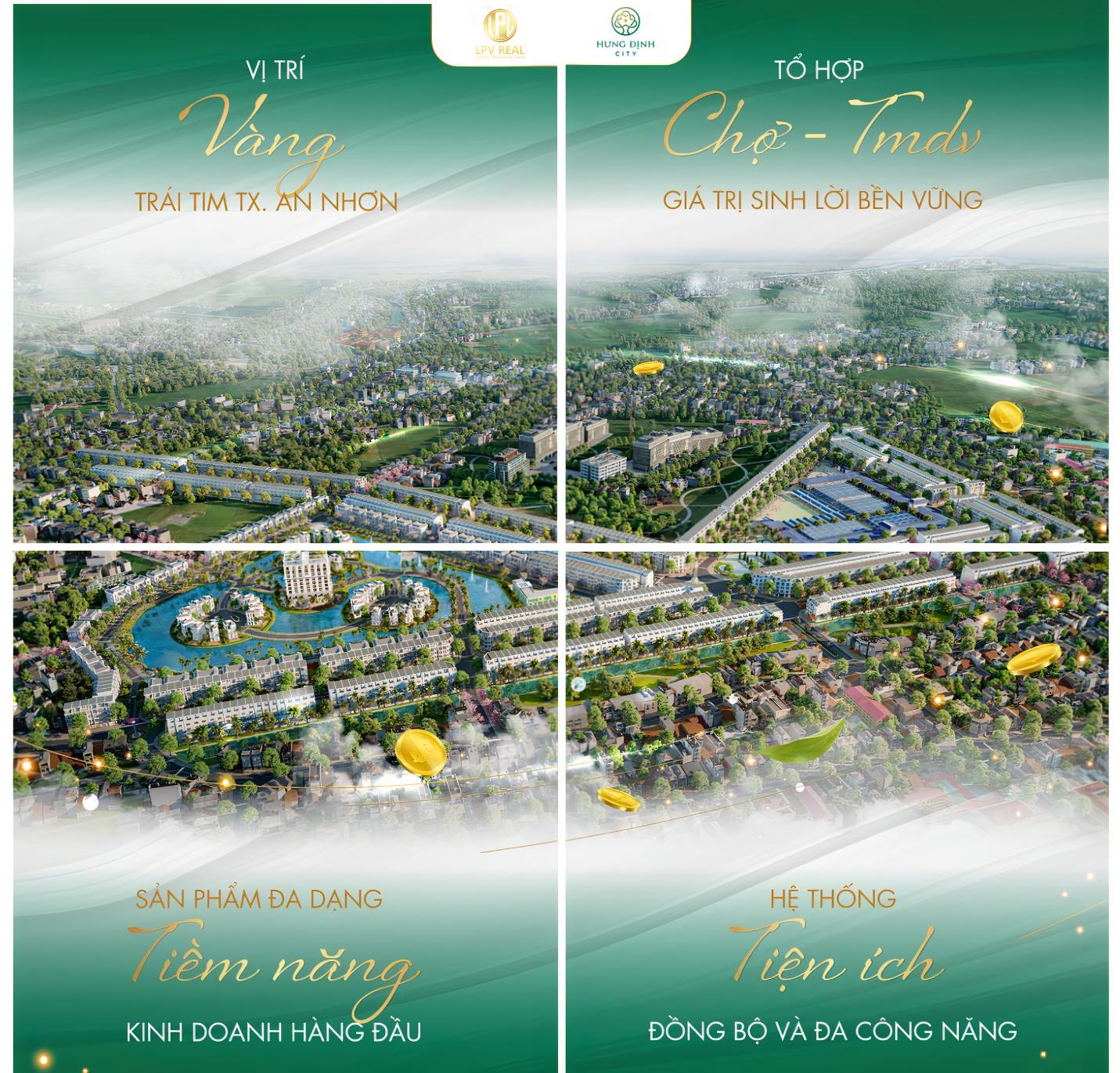 4 yếu tố tạo nên sức hút dự án hưng điịnh city