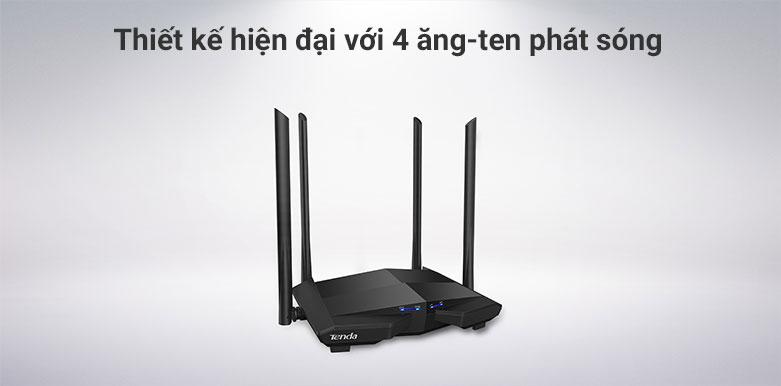 Thiết bị mạng/ Router Tenda AC10v3| Thiết kế hiện đại
