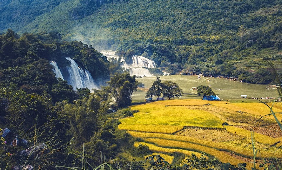 Phượt thác bản giốc, thác nước đẹp nhất Việt Nam