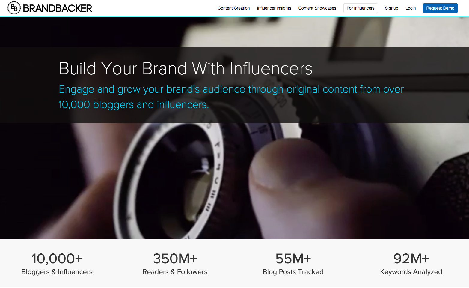 Brand backer- migliori piattaforme di Influencer Marketing- growth hacking
