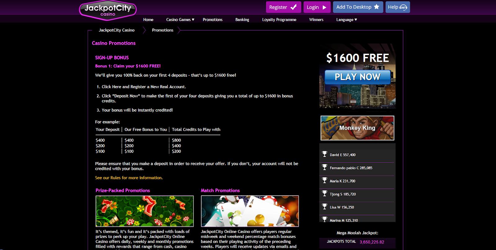 Jackpot-city-sign-up-page