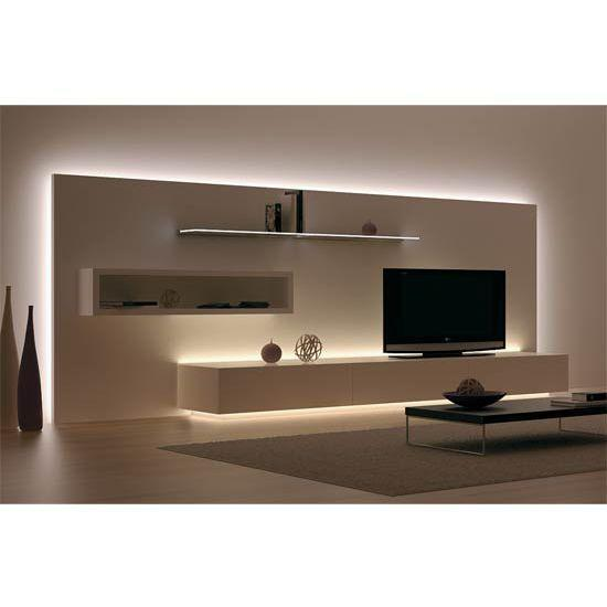 Able to last up to 25 years or more, this Hafele Loox 12V LED 2011 Flexible Strip Light uses 90% less power than conventional light bulbs. LED lights have extremely low power consumption and generate hardly any heat, making them suitable for displays around the kitchen, living room, bedroom area or any room in the house.