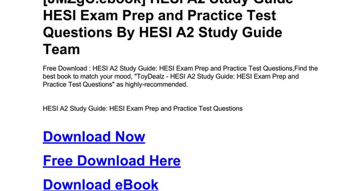 Contemporary Hesi A2 Anatomy And Physiology Practice Questions ...